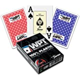 Fournier WPT Poker Size Jumbo Index Playing Cards (Red)