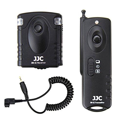 Wireless Shutter Remote Control JJC Remote Shutter Release Controller for Sony A99 A77 II A77 A65 A57 A55 A37 A35 A33 99M2 77M2 A900 A850 A700 A580 A560 A550 A500 A450 A350 A300 A200 A100 (Sony A300 Remote)
