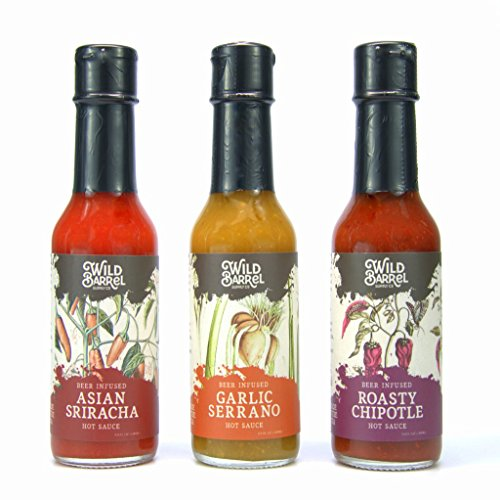 Beer infused Hot Sauce Variety Pack product image