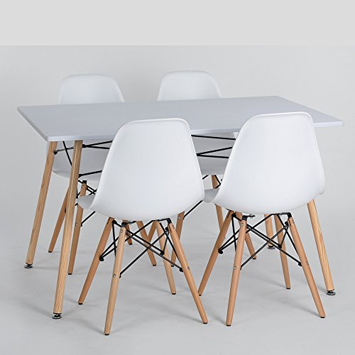 ELERANBE eames and tulip chairs