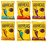 Hippeas Organic Chickpea Puffs, 6 Flavor Variety Pack, 4 oz (Pack of 12)