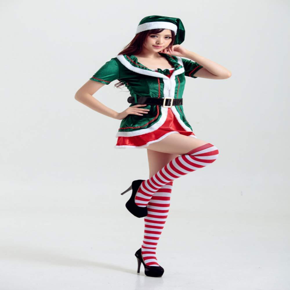 CVCCV 2018 Weihnachtskostüme Mädchen Cosplay Weihnachtskostüme Weihnachtskostüme Baumwollstoffe