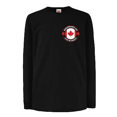 Amazon com: lepni me T-Shirt for Kids Remembrance Day Poppy