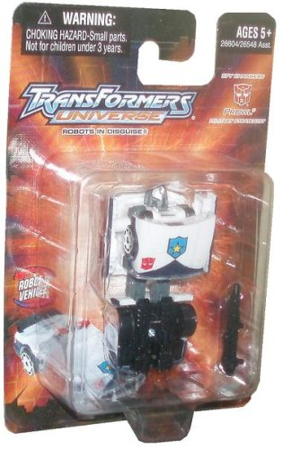 Transformers Universe Robots In Disguise Spy Changer Class 3 Inch Action Figure - Autobot Prowl as Military Strategist