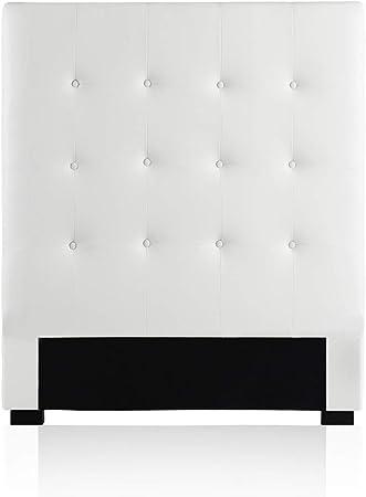 Intense Déco Tête De Lit Capitonnée Premium 90cm Blanc