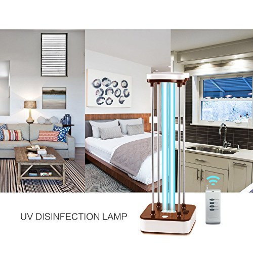 Lamptop UV Sterilizer Light, Ultraviolet Germicidal Light,Ultraviolet Sterilizing Lamp 110V 36W Air Sterilizer Cleaner- Kills 99.9% of Mold, Bacteria, Germs, and Viruses- for Home Pets