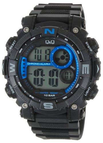 Q amp;Q Regular Digital Grey Dial Men #39;s Watch   M133J003Y