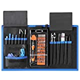 CO-Z 78-in-1 Anti-static Computer Cellphone Repair Tool Kit, Portable Magnetic Screwdriver Kit, Electronic Repair Tool Set w/Portable Case for Repair iPad,iPhone,Macbook, Tablets, Laptops, PC