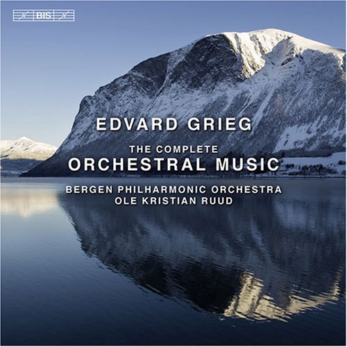 Grieg: The Complete Orchestral Music by BIS Records