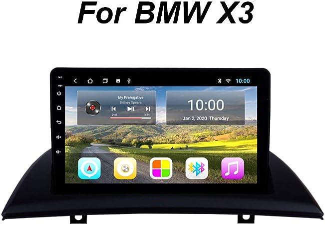 Bluetooth Pantalla TáCtil De 9 Pulgadas WiFi USB Control Del Volante Mirrorlink Android 9 Car Radio NavegacióN GPS, Para BMW X3 E83 2004-2012 HD 1080P ...