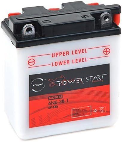 Nx Motorrad Batterie 6n6 3b 1 6v 6ah Auto