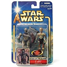Star Wars Blue Saga: Aotc C-3Po With Backdrop