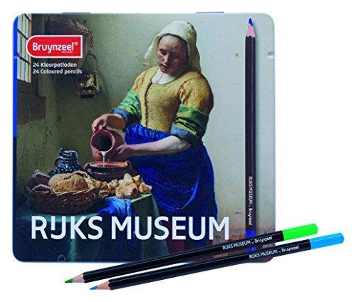 (Bruynzeel Rijks Museum 24 Color Pencil Tin )