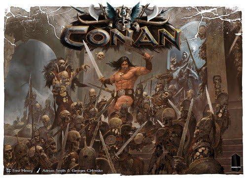 Monolith Board Games Conan - Juego de Mesa (Idioma español no ...