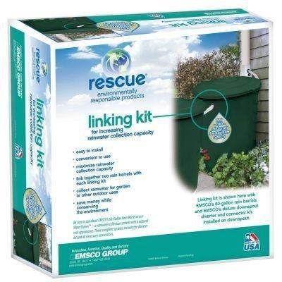 Emsco 2277-1 Rain Barrel Linking Kit