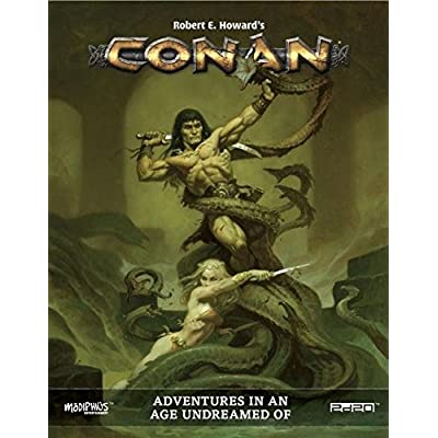 Modiphius Entertainment  MUH050374 Conan: Adventures in an Age Undreamed of, RPG Game: Toys & Games