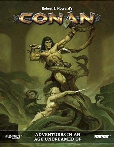 Modiphius Entertainment MUH050374 Conan: Adventures in an Age Undreamed of, RPG Game -