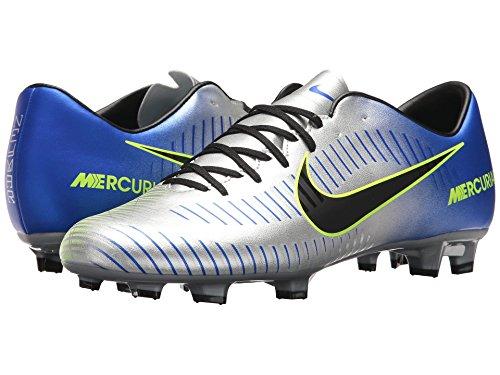 ダーリン気配りのあるそれに応じて(ナイキ) NIKE メンズサッカーシューズ?インドア?靴 Mercurial Victory VI NJR FG Racer Blue/Black/Chrome/Volt 8 (26cm) D - Medium