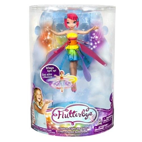 Deluxe Light Up Flutterbye Fairy - Rainbow by Flutterbye Fairy (Image #7)