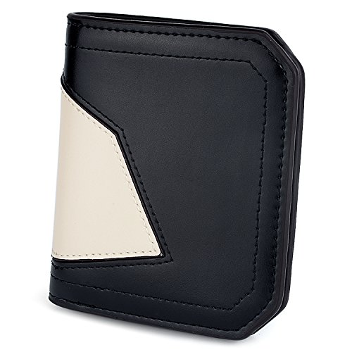 eb6de7977283 UTO RFID Wallet for Women PU Matte Leather Blocking Tech Wallet Card ...
