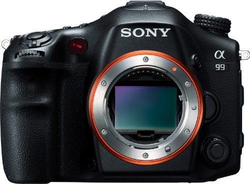 Sony Alpha SLT-A99V Full-Frame 24.3 MP SLT Digital Camera with 3-Inch LED - Body Only (Black)