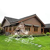 HYRIXDIRECT Outdoor Halloween Decorations Halloween Spider Decoration T (Small Image)