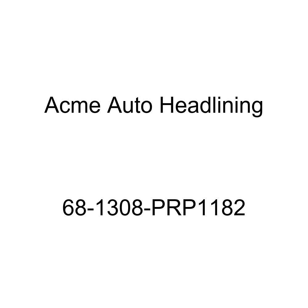 Acme Auto Headlining 68-1308-PRP1182 Blue Replacement Headliner Cadillac Series 60 Fleetwood 4 Door Sedan 6 Bow