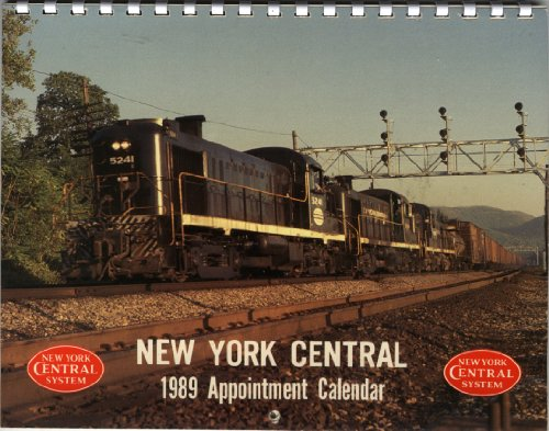 New York Central 1989 Appointment Calendar