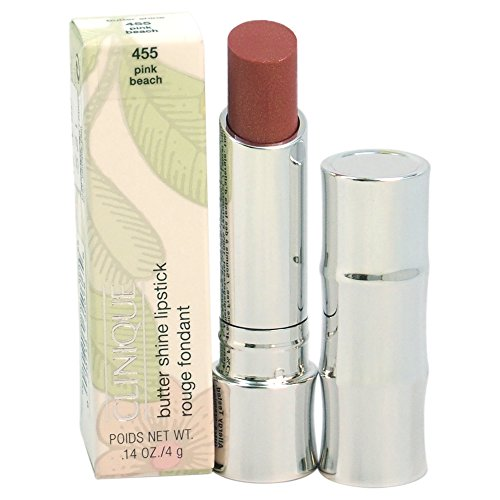 Clinique Butter Shine Lipstick, No. 455 Pink Beach, 0.14 Ounce