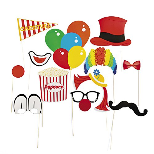 (Fun Express Paper Carnival Photo Booth Stick)