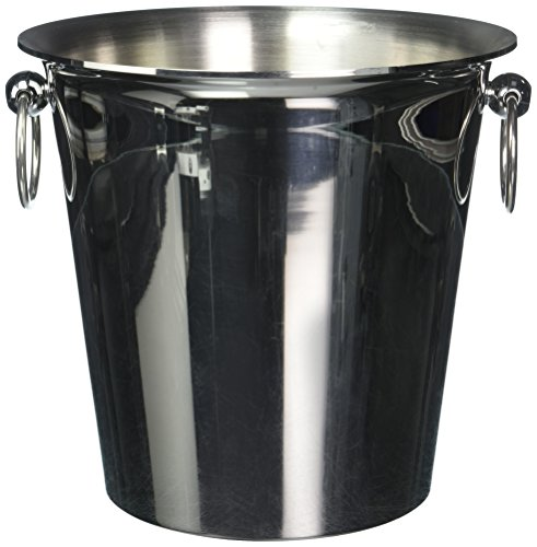 Paderno World Cuisine 1 Bottle Wine Bucket, Stainless Steel by Paderno World Cuisine