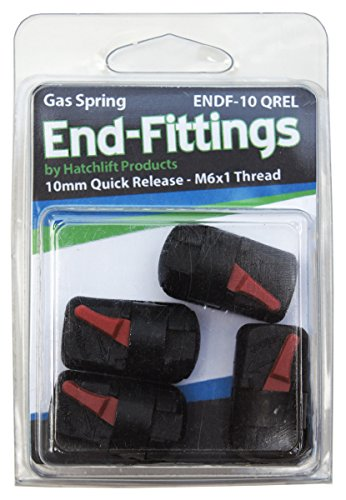 Hatchlift ENDF-10-QREL 10mm Quick Release End-Fittings (Gas End Spring Fittings)