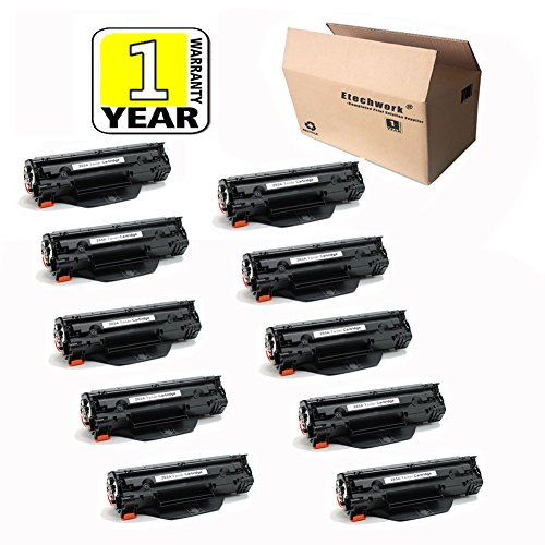 Etechwork CE285A 85A Toner Cartridge Replacement for HP 8...