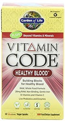 Garden of Life Vitamin Code Healthy Blood