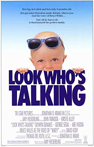 Look Who's Talking 11 x 17 Movie Poster
