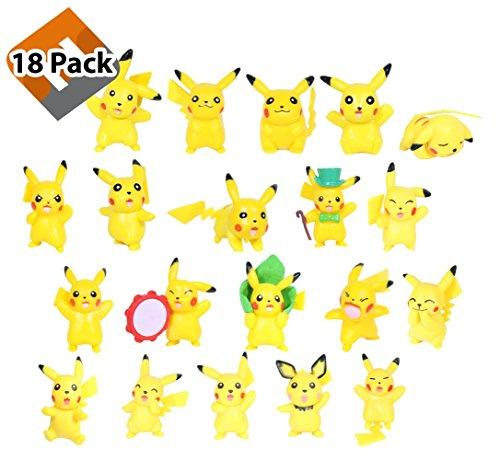 Assortmart Pokemon Pikachu Figures Pokeball product image