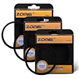 ZOMEi 77MM 4 Points Star Filter + 6 Points Star Filter + 8 Points Star Filter for canon nikon Sony Camera Lens