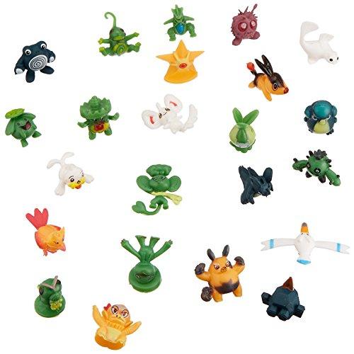 """Generic 24 random pieces Pokemon 1"""" Action Figure"""