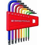 PB Rainbow Torx© Key L-wrench Set (T6-T25)