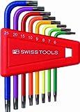 PB Rainbow Torx Key L-wrench Set