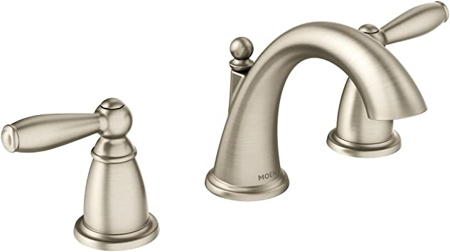 Moen T6620bn Brantford Two Handle 8 In Widespread Bathroom Faucet