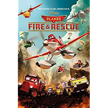 Amazon planes fire rescue disney pixar movie poster planes fire rescue disney pixar movie poster print action voltagebd Choice Image