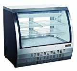 """Appliances : New 48"""" Xiltek Commercial Curved Glass Refrigerated Deli Case"""