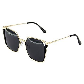 14756d0c02 Gafas de sol @Gafas Gafas de sol UV polarizadas Mujeres Coreanas  coloridas-X666 (