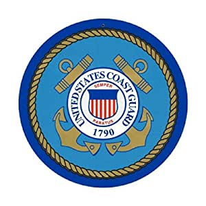 Coast Guard Retired Sign