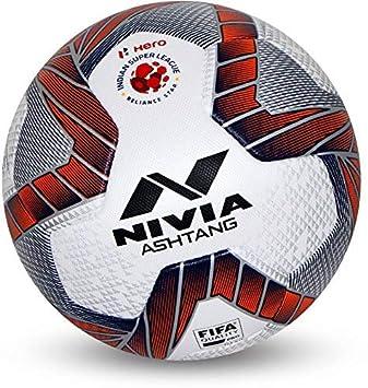 SAI MUSICAL Nivia Ashtang - Balón de fútbol (tamaño 5): Amazon.es ...