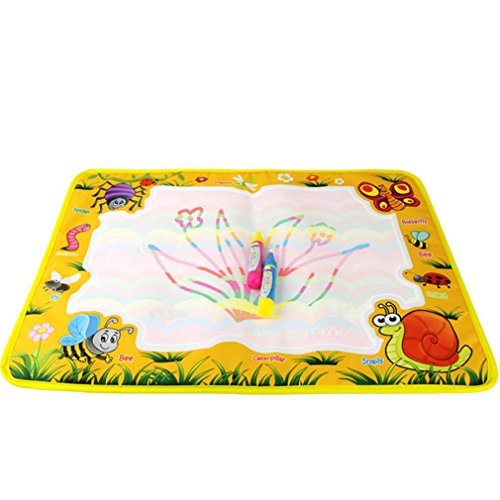 Makeupstore 2018 Newest Chidren's Early Education,Water Painting Color Graffiti Board Toy 8758CM Color Children Water Drawing Pad Board and Aqua Doodle Pen for Boys Girls Doodle Learning Toy