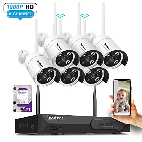 [Newest Strong Version WiFi] Wireless Security...
