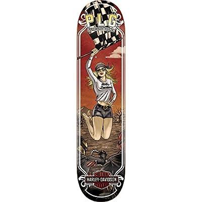 Darkstar Plg Harley Motor Deck -8.0 R7 Assembled as Complete Skateboard : Sports & Outdoors