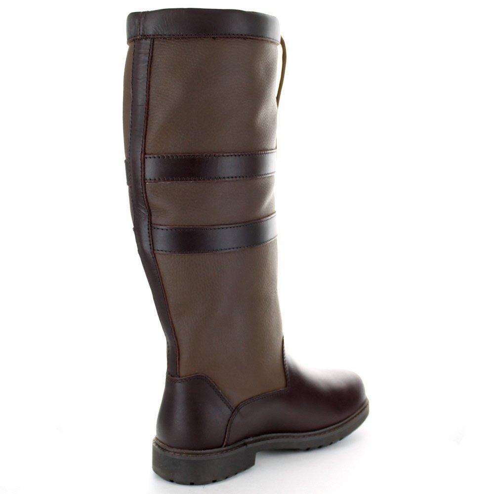 Cotswold Ladies Lancaster Waterproof Leather Country Stiefel braun braun braun 39125b